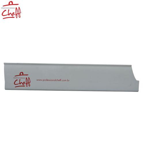 "Protetor PVC para Faca Chef Master Cinza 10"" - Professional Chef"