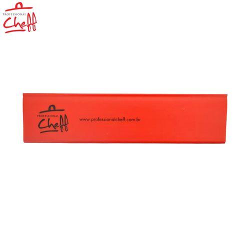 """Protetor PVC Vermelha para Faca Chefe 10"""" - Professional Cheff"""
