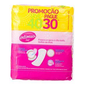 Protetor Sem Abas com Perfume Intimus Days Leve 40 Pague 30