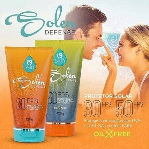 Protetor Solar 30FPS Solen Defense - I9 Skin