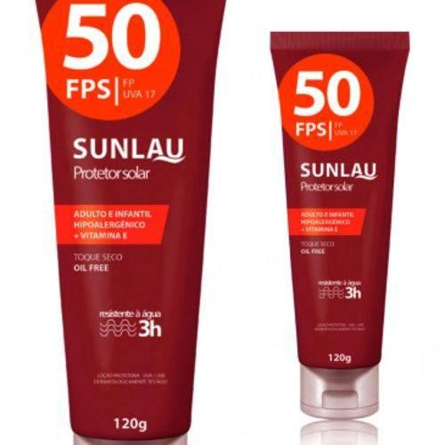 Protetor Solar 50 Fps Sunlau