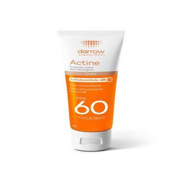 Protetor Solar Darrow Actine FPS60 Color 40g