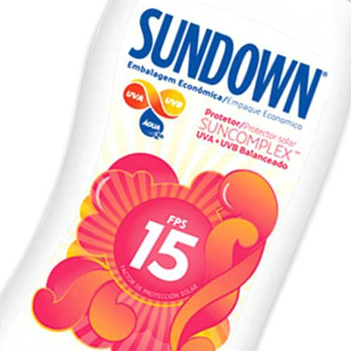Protetor Solar -Embalagem Econômica- FPS 15 200ml - Sundown