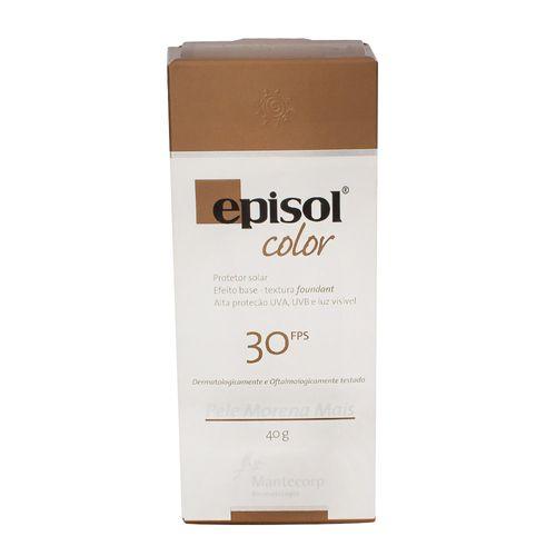 Protetor Solar Episol Color FPS30 Pele Morena Mais Mantecorp Skincare 40g