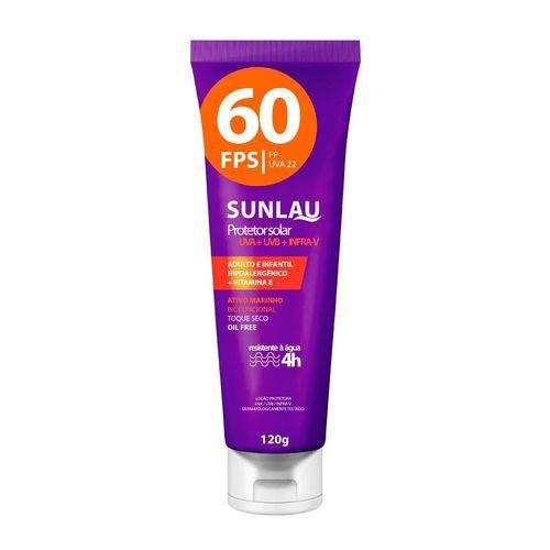 Protetor Solar Esportivo Fps60 120g - Sunlau