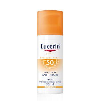 Protetor Solar Eucerin FPS-50 Anti Idade Facial 50g