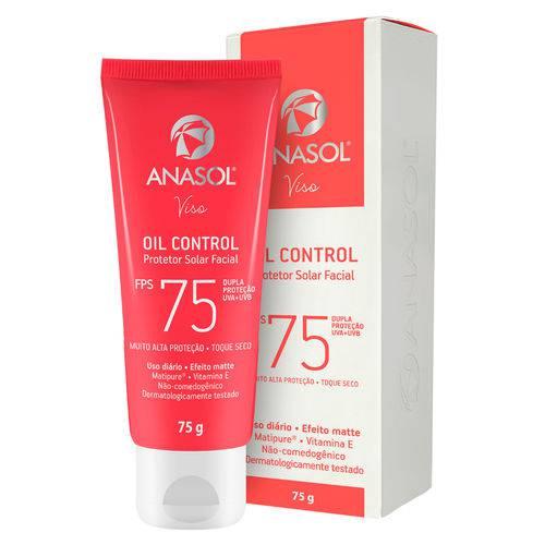 Protetor Solar Facial Anasol - Viso Oil Control Fps75