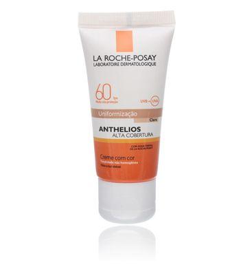 Protetor Solar Facial Anthelios Alta Cobertura Cor Clara La Roche-Posay FPS60 Clara 40ml
