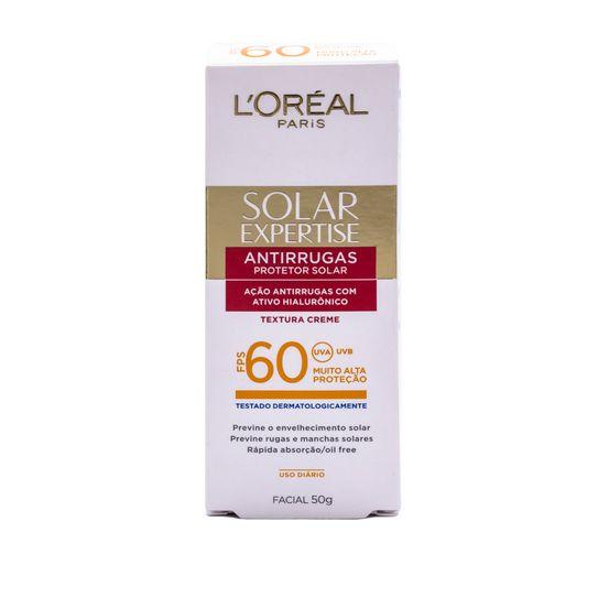 Protetor Solar Facial Anti-Rugas Fps 60 de Loréal Paris 50g