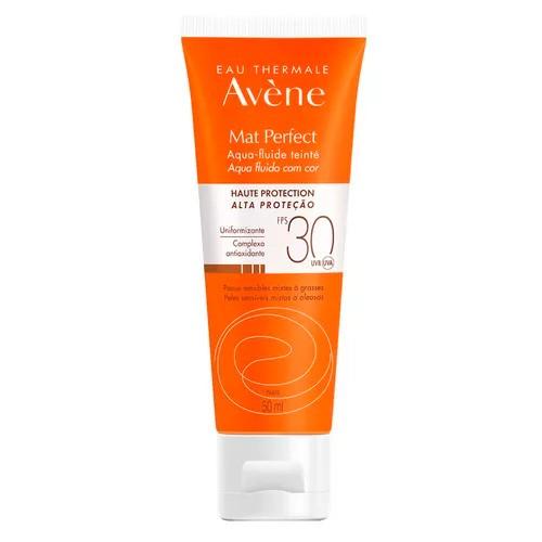 Protetor Solar Facial Avene Matte Perfect com Cor FPS30 50ml