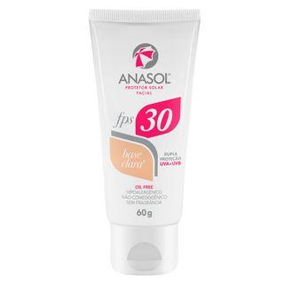 Protetor Solar Facial com Cor FPS 30 Anasol Claro