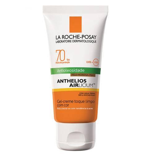 Protetor Solar Facial com Cor La Roche-Posay - Anthelios Airlicium Fps70