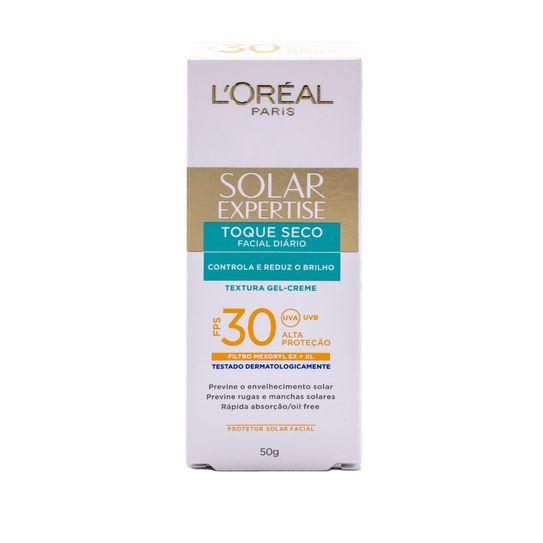 Protetor Solar Facial com Toque Seco Fps 30 de Loréal Paris 50g
