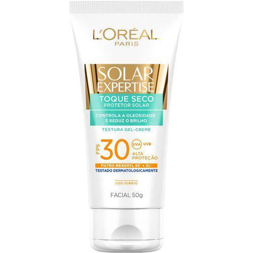 Protetor Solar Facial L'Oréal Toque Seco FPS 30