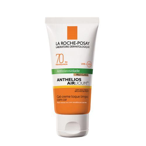 Protetor Solar Facial La Roche-Posay Anthelios Airlicium FPS70 Pele Clara 50g
