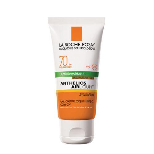Protetor Solar Facial La Roche-Posay Anthelios Airlicium FPS70 Pele Morena Mais 50g
