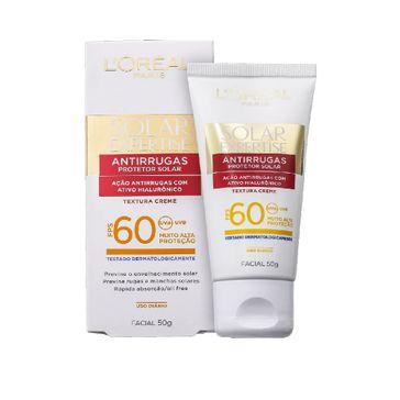 Protetor Solar Facial L'oréal Expertise Antirrugas Fps60 50g