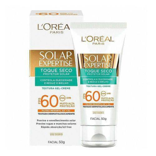 Protetor Solar Facial Loreal Expertise Toque Seco Fps 60 50g
