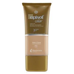 Protetor Solar Facial Mantecorp Skincare Fps 30 Episol Color Pele Clara