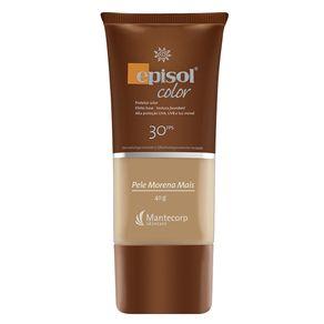Protetor Solar Facial Mantecorp Skincare Fps 30 Episol Color Pele Morena Mais