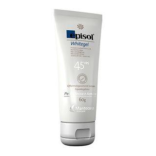 Protetor Solar Facial Mantecorp Skincare Fps 45 Episol Whitegel 60g