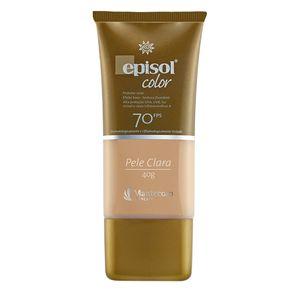 Protetor Solar Facial Mantecorp Skincare Fps 70 Episol Color Claro