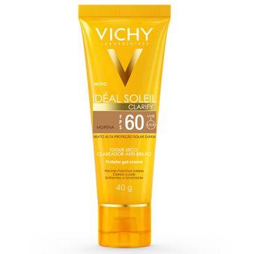 Protetor Solar Gel-creme Ideal Solei Fps-60 Clarify Morena 40g