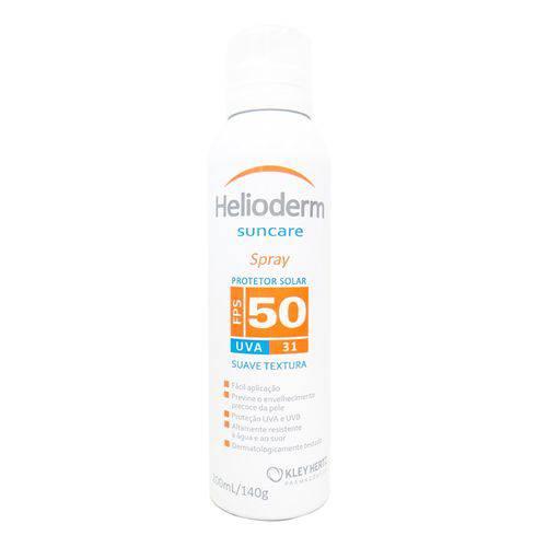 Protetor Solar Helioderm Fps 50 Spray - 200ml