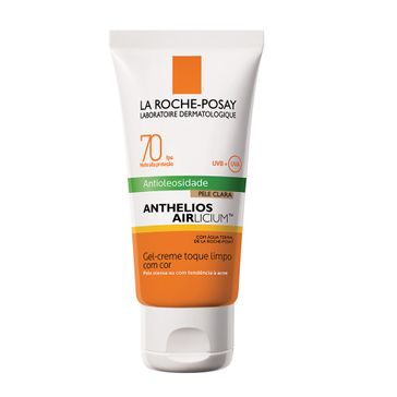 Protetor Solar La Roche Posay Anthelios Airlicium FPS-70 Gel Creme Cor Clara 50g