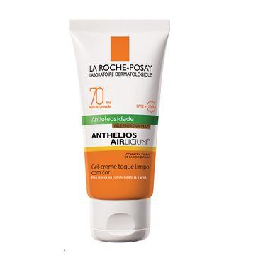 Protetor Solar La Roche Posay Anthelios Airlicium FPS-70 Gel Creme Cor Morena Mais 50g