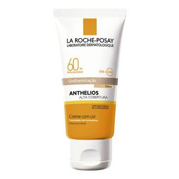 Protetor Solar La Roche Posay Anthelios Creme FPS-60 Cor Clara 40ml