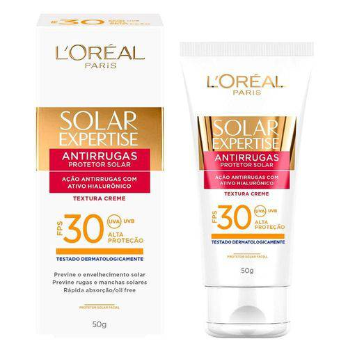 Protetor Solar Loreal Expertise Facial Anti Rugas Fps30 50g