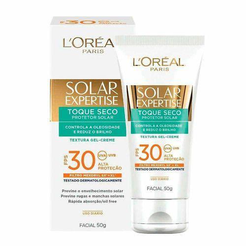 Protetor Solar Loreal Expertise Facial Toque Seco F30 50g
