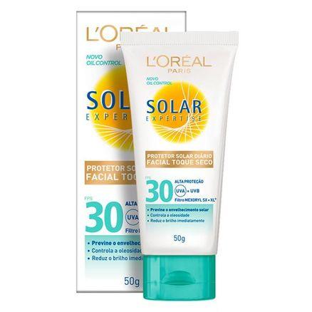 Protetor Solar Loreal Expertise Facial Toque Seco FPS 30 50g