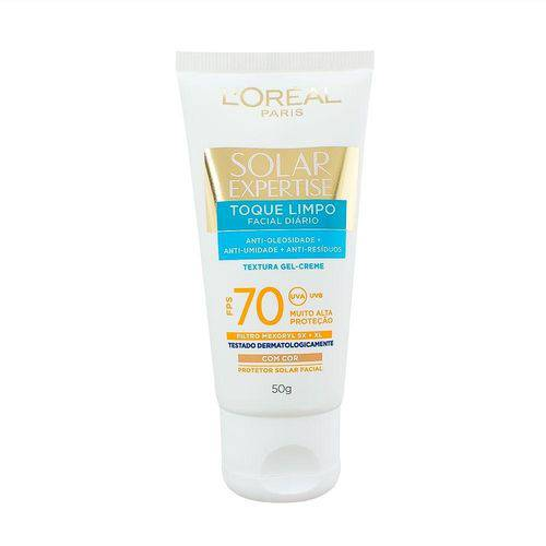 Protetor Solar Loreal Expertise Toque Limpo Fps 70 50ml