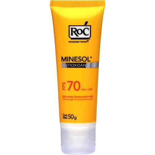 Protetor Solar Minesol Antioxidante FPS 70 50g RoC