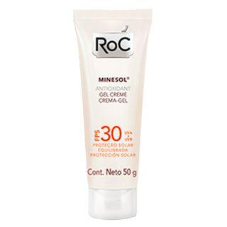 Protetor Solar Roc - Minesol Antioxidant Fps 30 50g