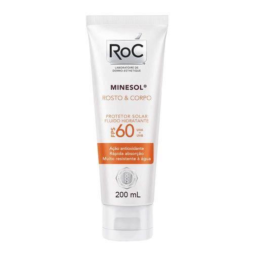 Protetor Solar Roc Minesol Corpo & Rosto Fps-30 com 120ml
