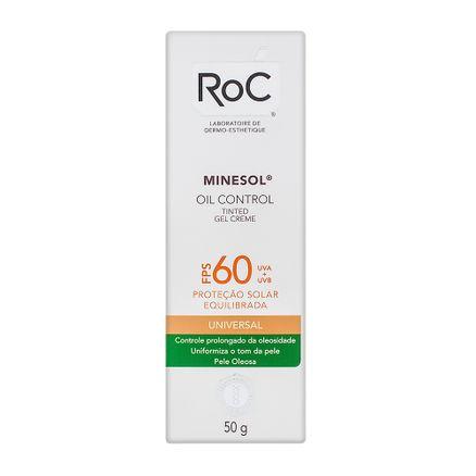 Protetor Solar Roc Minesol Oil Control FPS 60 Universal 50g