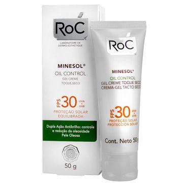 Protetor Solar Roc Minesol Oil Control Fps30 50g