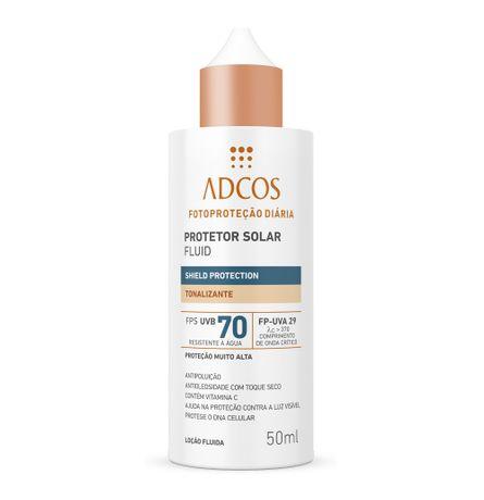 Protetor Solar Shield Protection FPS 70 Fluid Tonalizante - 50ml