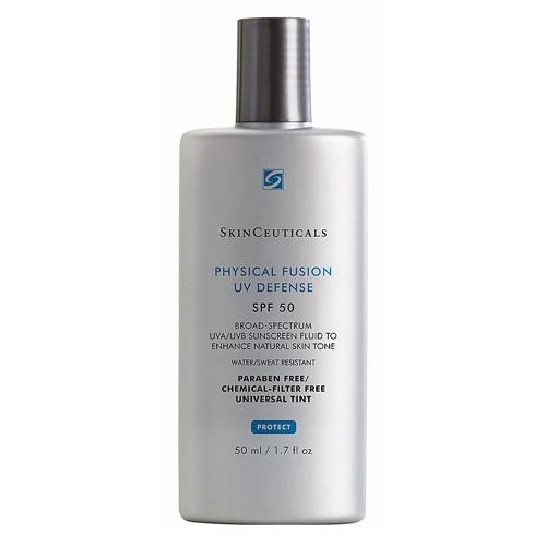 Protetor Solar SkinCeuticals Physical Fusion UV Defense FPS 50 Loção com Efeito de Base com 50ml