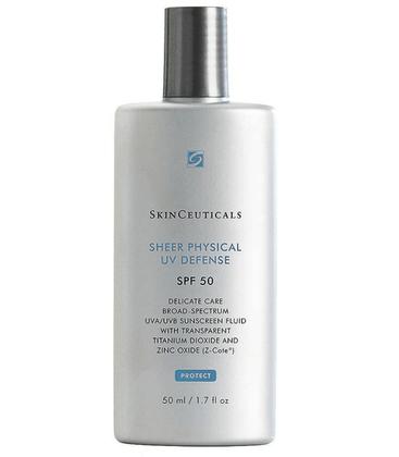 Protetor Solar Skinceuticals Sheer Physical UV Defense FPS 50 50ml