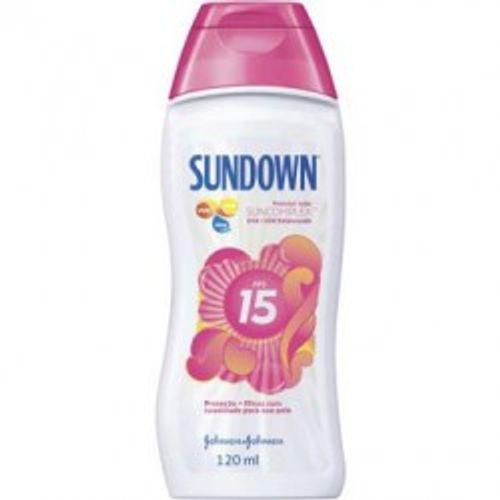 Protetor Solar Sundown FPS 15 Loção 120 Ml