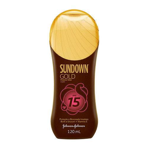 Protetor Solar Sundown Loção Gold Fps15