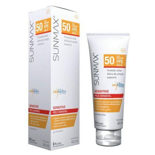 Protetor Solar Sunmax Sensitive Fps 50 Loção Oil Free 60ml