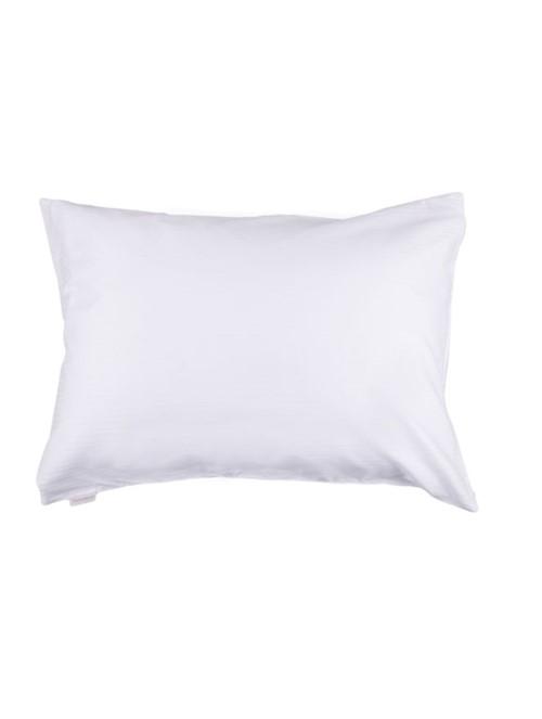 Protetor Travesseiro Damask New 2 Peças Branco 50X70cm