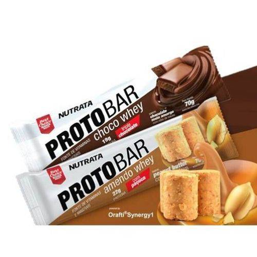 Proto Bar Amendoim (Caixa 8 Unidades) - Nutrata