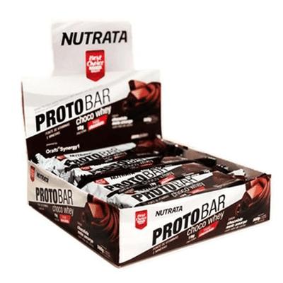 Proto Bar Caixa 8 Unidades Nutrata Proto Bar Caixa 8 Unidades Chocolate Meio Amargo Nutrata