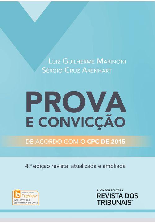 Prova e Convicção - 4ª Edição